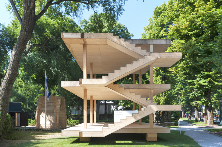 Students Recreate Le Corbusieru0027s Minimalist Maison Dom Ino As A Pavilion  For Venice Biennale | Inhabitat   Green Design, Innovation, Architecture,  ... Photo