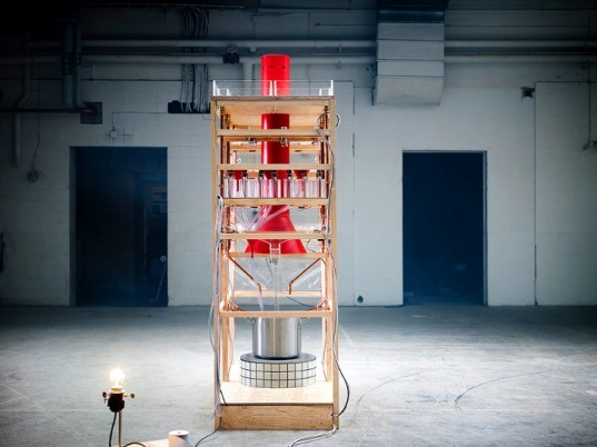 Sweden, Stockholm, Collaborative Cooking, cooking machine, interactive art, performance art, food, cooking, chefs, Christian Isberg, Petter Johansson Kukacka, Lasse Korsgaard, Carl Berglöf, digital projects, interactive technology