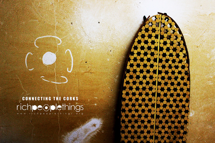 Recycled cork surfboards from richpeoplethings respecting - Tabla de corcho ...