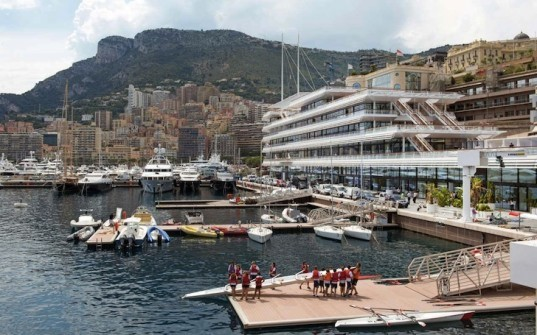 Foster + partners, clean energy, solar power, solar energy, yacht club de Monaco, Monaco, yacht club, clubhouse, solar thermal panels, photovoltaic cells, seawater cooling systems, yacht industry, Monaco yacht, superyachts, Monaco marina