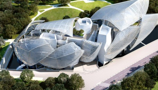 green design, eco design, sustainable design, Fondation Louis Vuitton, Frank Gehry, Jardin d'Acclimatation, Paris, Bois de Boulogne