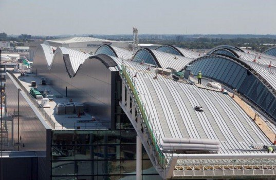 green design, eco design, sustainable design, Heathrow, luis vidal + architects, VLA, Rogers Stirk Harbour & Partners, Heathrow Terminal 2