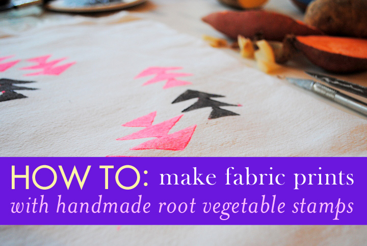 How To Create Unique Fabric Prints With Veggies