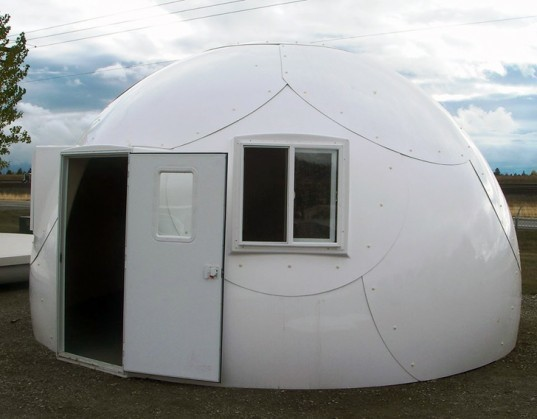 Prefab Intershelter Dome Homes Pop Up Anywhere For