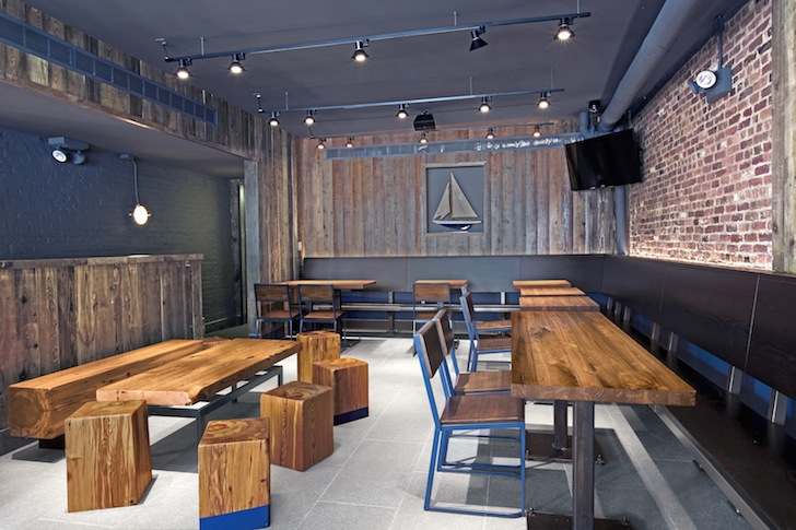 NYC's Newest Shake Shack Gets Decked Out with Recycled Furniture