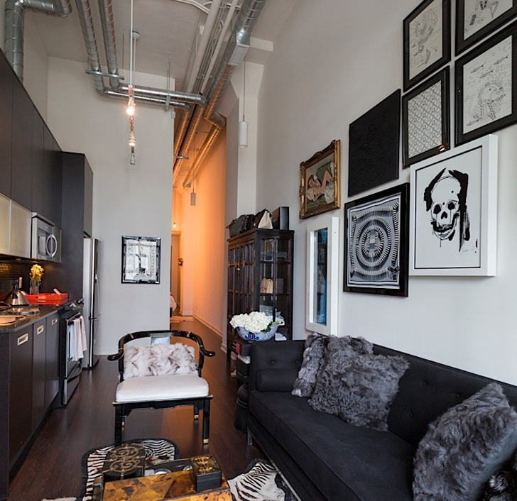 This Tiny Toronto Loft Proves That Elegance Can Be