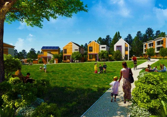 Grow Communnity, Bainbridge Island, Washington, green development, net zero carbon, zero waste, one planet community, carbon neutral, residential developments, sustainable principles