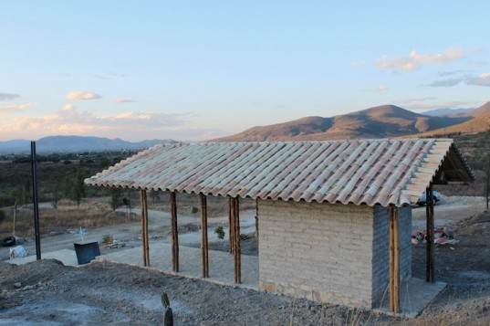 green design, eco design, sustainable design, B_Rootstudio, Candelaria Chapel, Bamboo Chapel, Black clay hill, Oaxaca, sustainable church