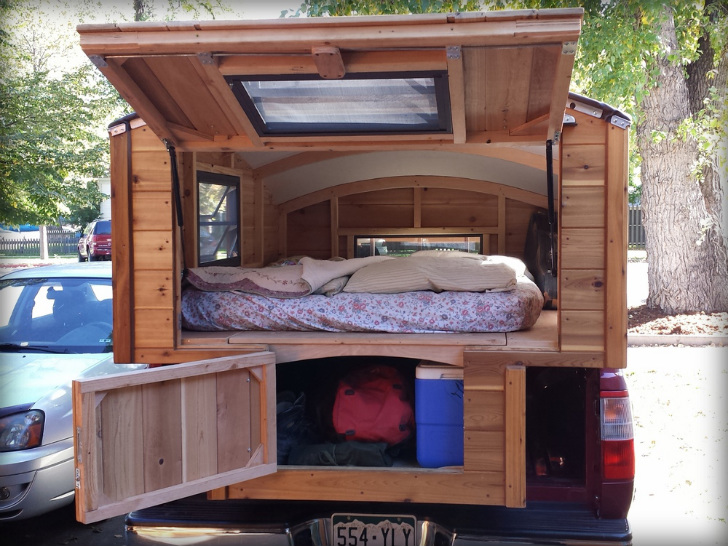 Bespoke Terrapin Camper Handcrafted from Wood Boasts a ...