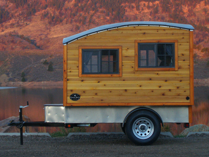 Bespoke Terrapin Camper Handcrafted From Wood Boasts A Domed Roof And Plenty Of Daylight