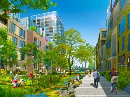 The Islaes Ottawa, green development, net zero carbon, zero waste, one planet community, carbon neutral, residential developments, sustainable principles