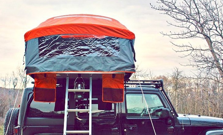 Finally The Tamarack Constellation Rooftop Tent Boasts An
