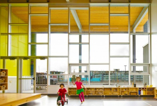 UniverCity Childcare Center, British Columbia, Living Building Challenge, self-sufficient building, net zero energy, Hughes Condon Marler Architects, passive solar, biophilia