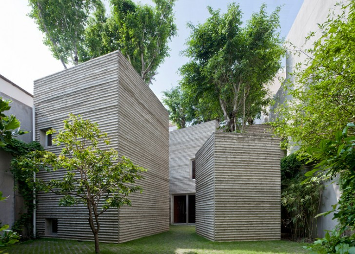 Vietnam Treehouse Part - 32: Five-Towered Home Topped With Lush Banyan Trees Pops Up In Viet Nam