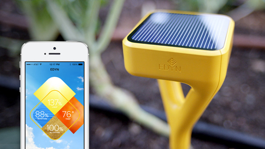 Solar-Powered EDYN Smart Garden System Gives Your Green Thumb an Instant Boost