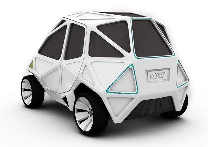 Exo The World S First Geodesic Electric Car Inhabitat Green
