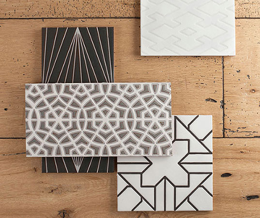Fireclay Tile Debuts Hand Painted Mediterranean and Modern Tiles