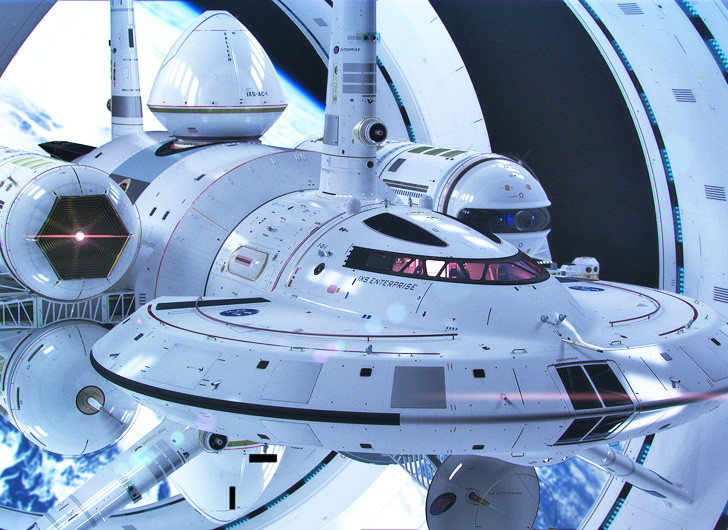 This Is What Nasa S Warp Capable Enterprise Starship Would