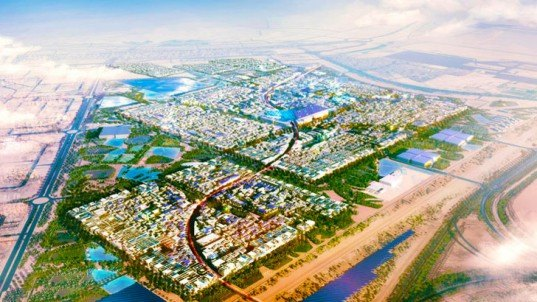 Abu Dabi, planned city, green development, net zero carbon, zero waste, one planet community, carbon neutral, residential developments, sustainable principles