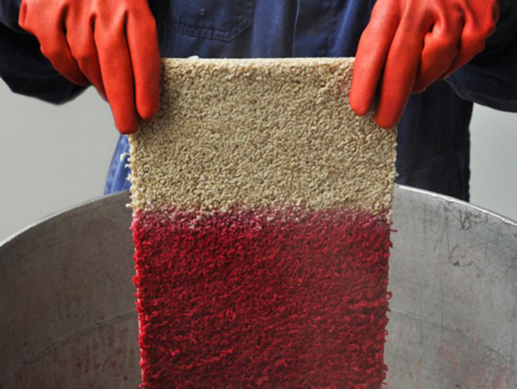 Re Vive Rens Uses Bright Colors To Give Ugly Old Rugs A