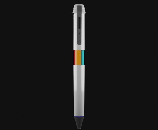 scribble pen, kickstarter, scribble, mark barker, robert hoffman, scribble stylus, scribble kickstarter, color picker pen, color sensor, rgb color scanner, microprocessor, scribble+,