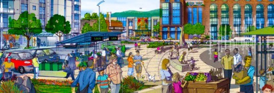 sonoma mountain village, farmer's market, green development, net zero carbon, zero waste, one planet community, carbon neutral, residential developments, sustainable principles