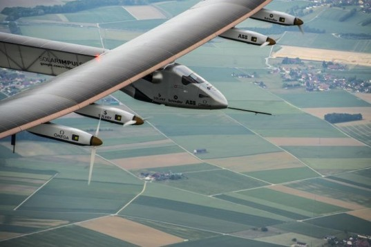 Solar Impulse 2, solar-powered aircraft, clean energy, aviation, round-the-world flight