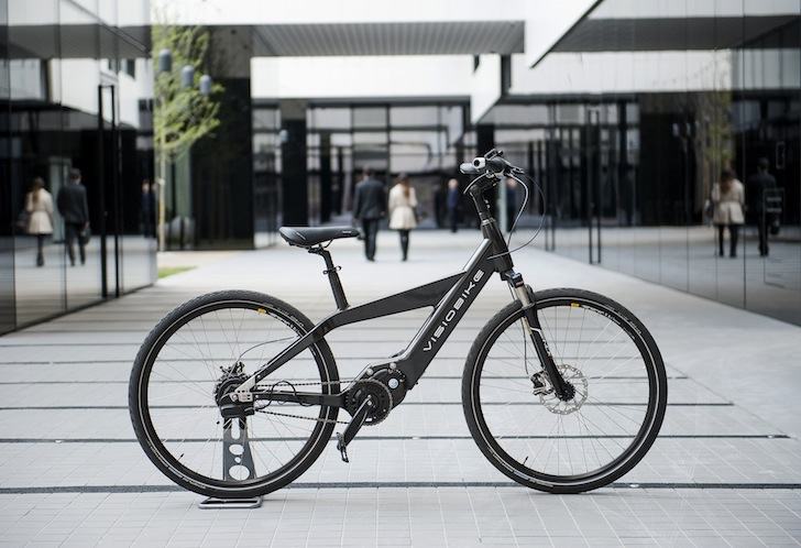 Visiobike: A Smartphone-Enabled Electric Bike Offers the Functionality of a High-End Car