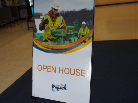 williams companies, energy, fracking, open house,