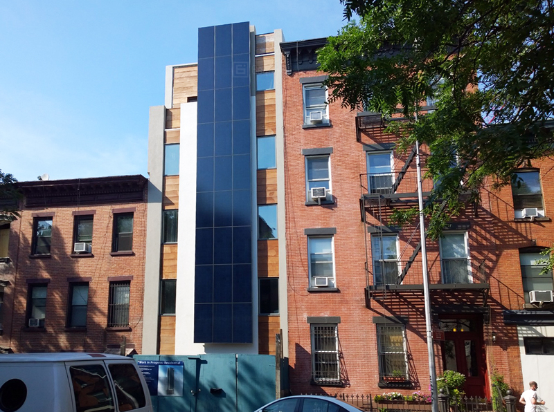 Park Slope S New Solar Panel Clad Residential Building