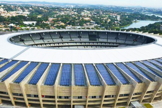 World Cup 2014, Brazil, Mineirão stadium, World Cup Stadium, solar power, renewable energy, Minas Gerais State Electricity Company