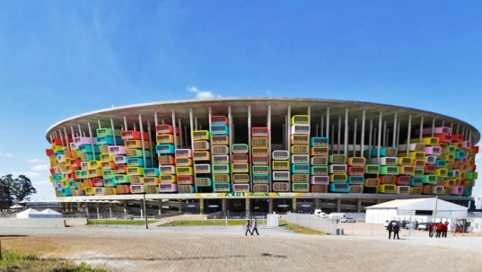 1Week1Project, Casa Futebol, Brazil stadiums, affordable housing stadium, affordable housing, social housing, repurpose Brazil stadium, World Cup stadiums, World Cup architecture, World Cup Brazil, modular housing