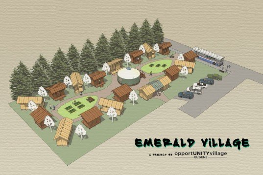 ent city urbanism, Andrew Heben, tent cities, tiny house villages, homeless, micro-housing