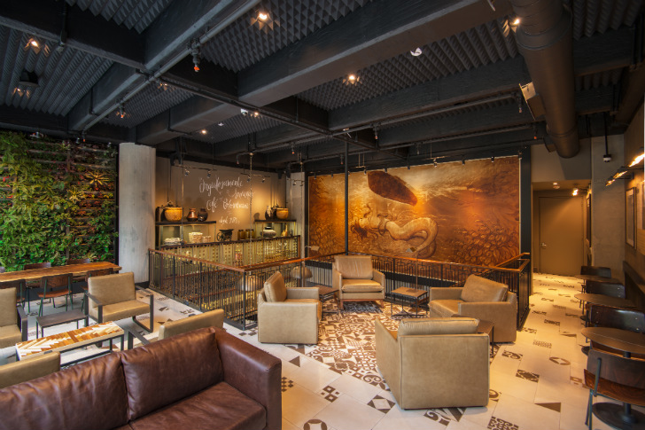 Starbucks First Store In Colombia Serves 100 Locally