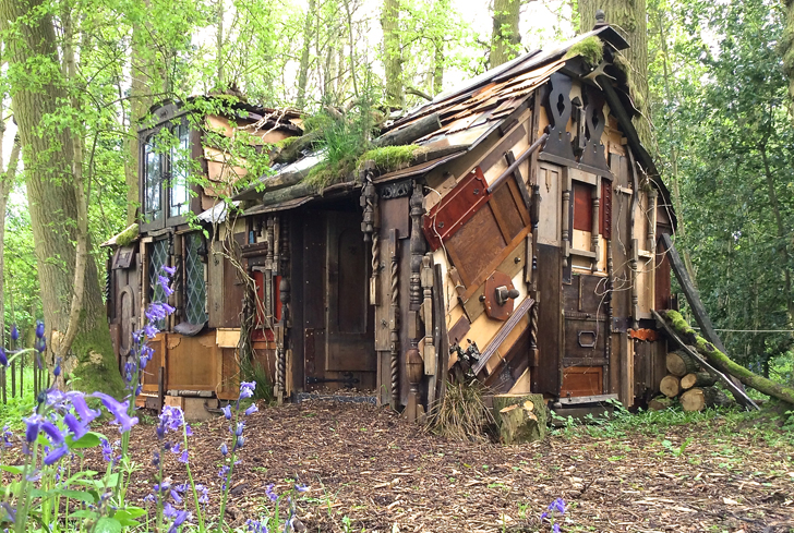 Insideouthouse Packwood Follies Repurposes Junk Furniture