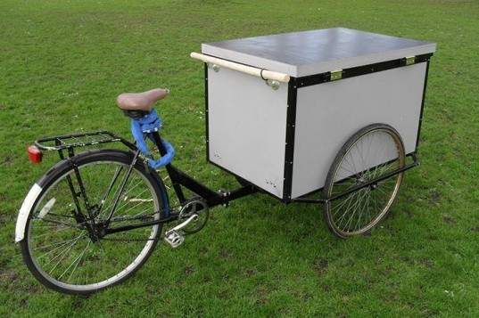 a home on a bike, a home on wheels, bas sprakel, bike camper, cargo bike, green design, housetrike, Housetrike on wheels, mobile shelter, shelter for homeless, shelter on wheels, sustainable design, trike home, urban nomads