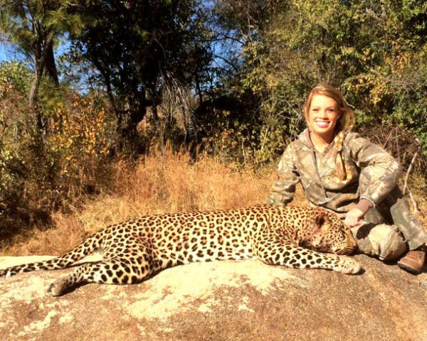 Kendall Jones, big game hunting, elephants, lions, leopards, rhinos, hippos, Africa, Namibia, Zimbabwe, endangered animals, hunting, CITES, petitions