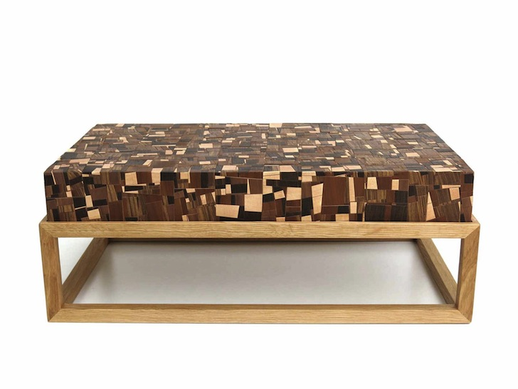 Mosaica Chissick Design Creates Beautiful Coffee Table From Over