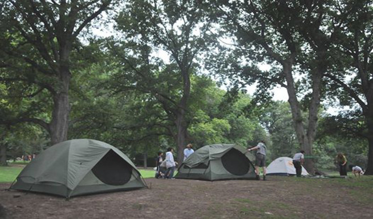 Pitch a Tent Right in the City at These Urban C&ing Sites in NYC | Inhabitat - Green Design Innovation Architecture Green Building & Pitch a Tent Right in the City at These Urban Camping Sites in NYC ...