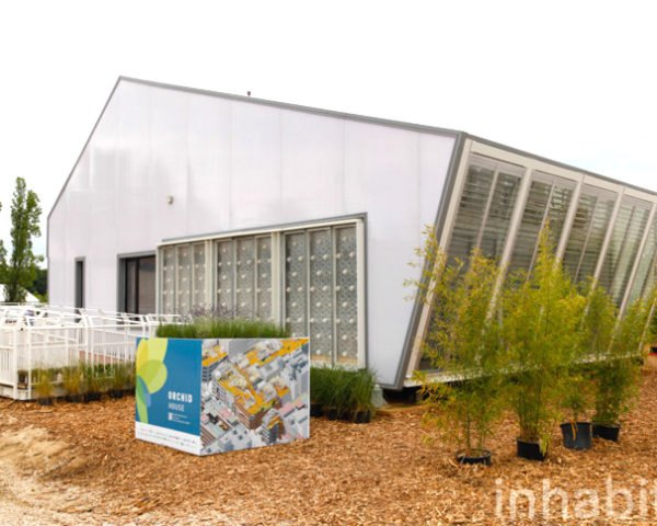 orchid house, solar decathlon, solar decathlon europe, solar decathlon europe 2014, national chiao tung university, nctu, nctu unicode, taiwan, humid climates, air conditioning, humid, water wall, greenhouse evaporative cooling technology, solar power, rainwater harvesting