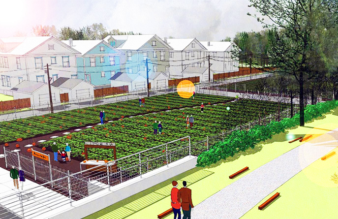 Urban agriculture thesis - Coursework Example
