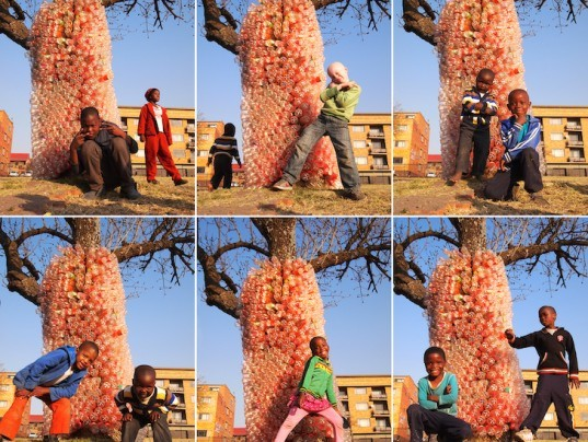 Support Ithemba Tower Soaring Art Installation Made With