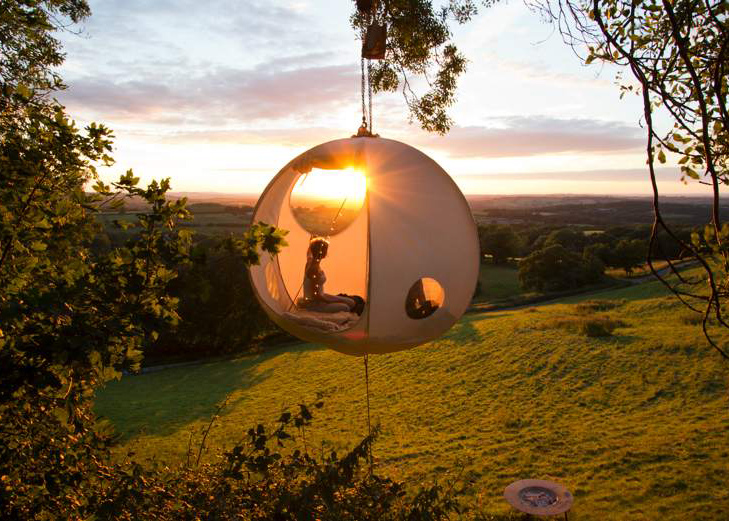 Roomoon Hanging Treehouse Tent « Inhabitat u2013 Green Design Innovation Architecture Green Building & Roomoon Hanging Treehouse Tent « Inhabitat u2013 Green Design ...