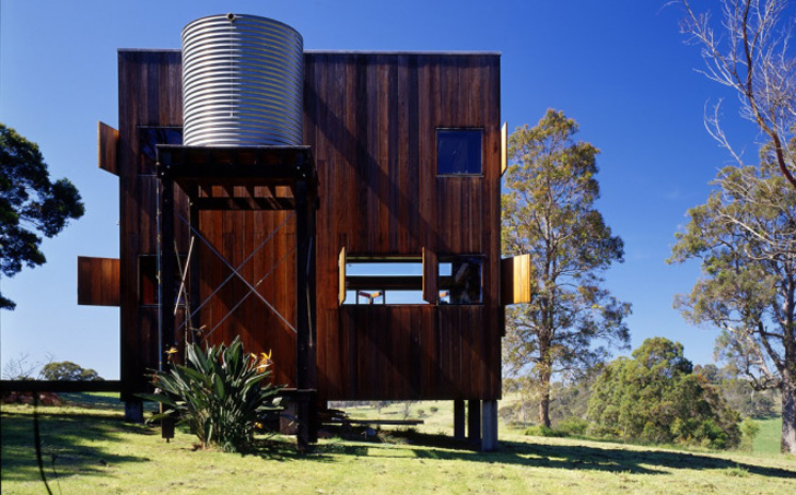 A Timber Off Grid Cabin Thatu0027s Tough Enough For The Formidable Australian  Outback