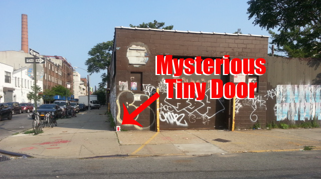 Architecture & Mysterious Tiny Apartment Door Appears in Williamsburg Brooklyn ...