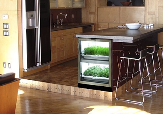 Urban Cultivator Grows 100 Organic Hydroponic Greens In A Stylish And Fully Automated Indoor Garden