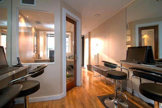 Rapid Reality, Carlos Angelucci, 150 square-foot real estate office, tiny apartments, small living space, making the most of your small apartment, space efficiency, 175 square foot office, 88 Bergen Street, Cobble hill, micro apartment