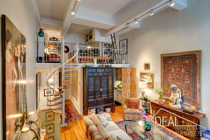 This Dream Loft Home Used To Be A 19th Century Schoolhouse