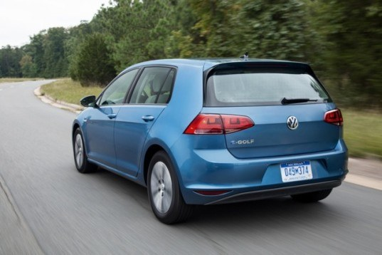 Volkswagen, VW, VW Golf, VW e-Golf, VW electric car, VW EV, electric car, green car, green transportation, electric motor