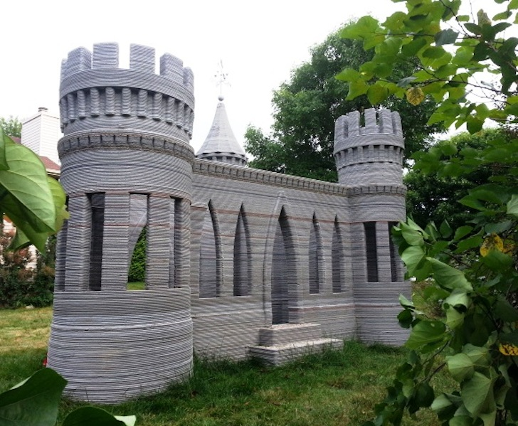 Minnesotan Man Builds Worldu0027s First 3D Printed Concrete Fairytale Castle In His  Own Backyard | Inhabitat   Green Design, Innovation, Architecture, ...